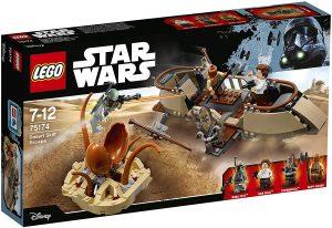 Sets de LEGO de Boba Fett Star Wars - Juguete de construcción de LEGO de Escape en el desierto 75174
