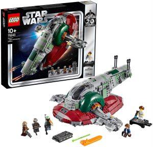 Sets de LEGO de Boba Fett Star Wars - Juguete de construcción de LEGO de Slave 1 de Boba Fett 75243 20 Aniversario