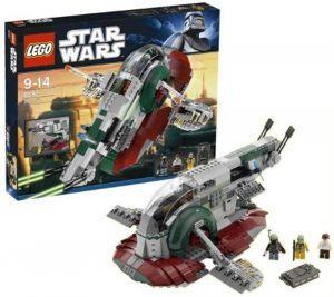 Sets de LEGO de Boba Fett Star Wars - Juguete de construcción de LEGO de Slave 1 de Boba Fett 8097