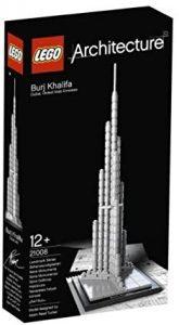 Sets de LEGO de Burj Khalifa - Juguete de construcción de LEGO Architecture de Burj Khalifa 21008