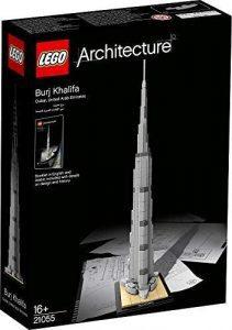 Sets de LEGO de Burj Khalifa - Juguete de construcción de LEGO Architecture de Burj Khalifa 21055