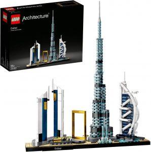 Sets de LEGO de Burj Khalifa - Juguete de construcción de LEGO Architecture de la Ciudad de Dubái 21052