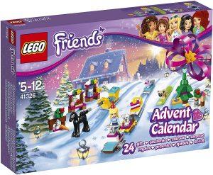 Sets de LEGO de Calendario de Adviento - Juguete de construcción de LEGO 41326 Friends Calendario de Adviento