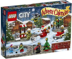Sets de LEGO de Calendario de Adviento - Juguete de construcción de LEGO 60133 City Calendario de Adviento