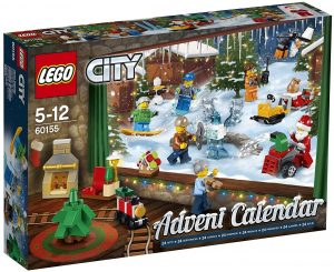 Sets de LEGO de Calendario de Adviento - Juguete de construcción de LEGO 60155 City Calendario de Adviento