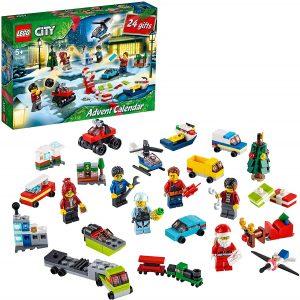 Sets de LEGO de Calendario de Adviento - Juguete de construcción de LEGO 60268 City Calendario de Adviento