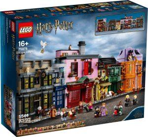 Sets de LEGO de Callejón Diagon de Harry Potter 75978 - Juguete de construcción de LEGO de Harry Potter