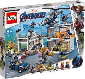 Sets de LEGO de Capitana Marvel - Captain Marvel - Juguete de construcción de LEGO de Batalla en el Complejo de los Vengadores 76131