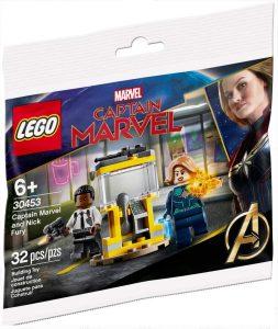 Sets de LEGO de Capitana Marvel - Captain Marvel - Juguete de construcción de LEGO de Capitana Marvel y Nick Furia 30453