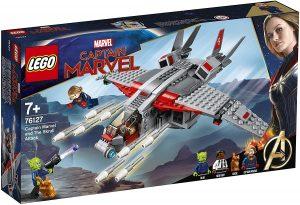 Sets de LEGO de Capitana Marvel - Captain Marvel - Juguete de construcción de LEGO de Capitana Marvel y el Ataque de los Skrulls 76127