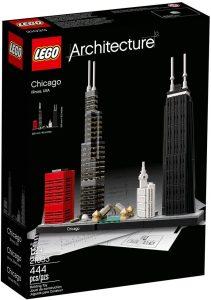 Sets de LEGO de Chicago - Juguete de construcción de LEGO Architecture de la Ciudad de Chicago 21033
