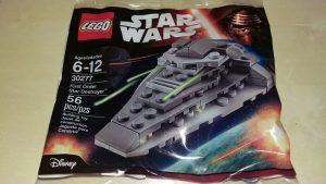 Sets de LEGO de Destructor Estelar Star Wars - Juguete de construcción de LEGO de Destructor Estelar de la Primera Orden 30277