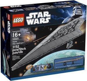 Sets de LEGO de Destructor Imperial Estelar Star Wars - Juguete de construcción de LEGO de Destructor Estelar 10221