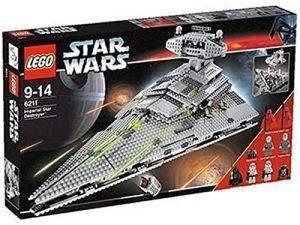 Sets de LEGO de Destructor Imperial Estelar Star Wars - Juguete de construcción de LEGO de Destructor Imperial 6211