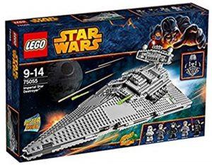 Sets de LEGO de Destructor Imperial Estelar Star Wars - Juguete de construcción de LEGO de Destructor Imperial 75055