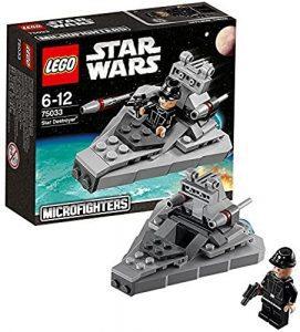 Sets de LEGO de Destructor Imperial Estelar Star Wars - Juguete de construcción de LEGO de Destructor Imperial Microfighters 75033