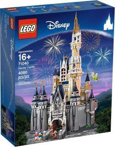 Sets de LEGO de Disney - Juguete de construcción de LEGO de El Castillo de Disney de LEGO 71040 de 4080 piezas