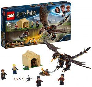 Sets de LEGO de Harry Potter - Juguete de construcción de LEGO de Harry Potter 75946 Desafío de los Tres Magos Colacuerno Húngaro