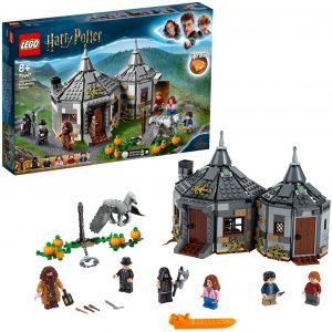 Sets de LEGO de Harry Potter - Juguete de construcción de LEGO de Harry Potter 75947 Cabaña de Hagrid