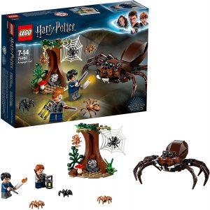 Sets de LEGO de Harry Potter - Juguete de construcción de LEGO de Harry Potter 75950 Guarida de Aragog
