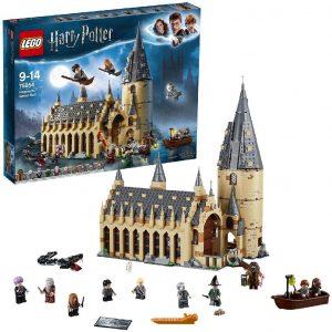 Sets de LEGO de Harry Potter - Juguete de construcción de LEGO de Harry Potter 75954 Gran Comedor de Hogwarts