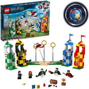 Sets de LEGO de Harry Potter - Juguete de construcción de LEGO de Harry Potter 75956 Partido de Quidditch