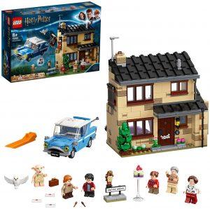 Sets de LEGO de Harry Potter - Juguete de construcción de LEGO de Harry Potter 75968 La Casa de la familia Dursley