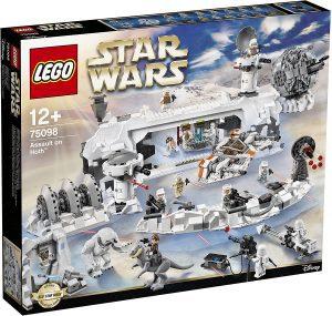 Sets de LEGO de Hoth de Star Wars - Juguete de construcción de LEGO de Asalto a Hoth 75098