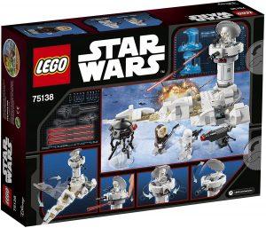 Sets de LEGO de Hoth de Star Wars - Juguete de construcción de LEGO de Ataque a Hoth 75138