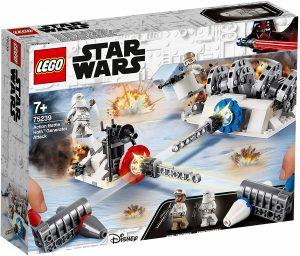 Sets de LEGO de Hoth de Star Wars - Juguete de construcción de LEGO de Ataque al Generador de Hoth 75239