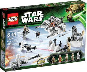 Sets de LEGO de Hoth de Star Wars - Juguete de construcción de LEGO de Batalla de Hoth 75014