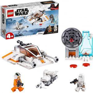 Sets de LEGO de Hoth de Star Wars - Juguete de construcción de LEGO de Speeder de Nieve de Hoth 75268