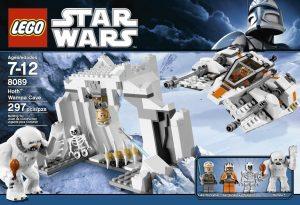Sets de LEGO de Hoth de Star Wars - Juguete de construcción de LEGO de la Cueva del Wampa en Hoth 8089