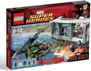 Sets de LEGO de Iron Man - Juguete de construcción de LEGO de Ataque a la mansión Malibu Mansion 76007