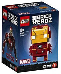 Sets de LEGO de Iron Man - Juguete de construcción de LEGO de BrickHeadz de Iron Man