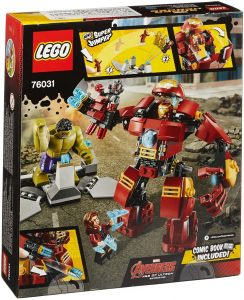 Sets de LEGO de Iron Man - Juguete de construcción de LEGO de El Golpe Demoledor de Hulk 76031