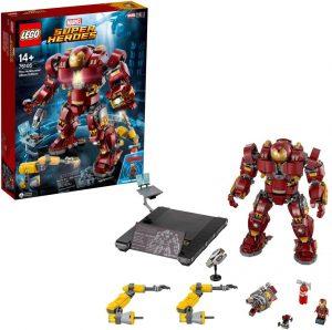 Sets de LEGO de Iron Man - Juguete de construcción de LEGO de Hulkbuster, edición Ultrón 76105