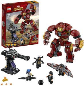 Sets de LEGO de Iron Man - Juguete de construcción de LEGO de Incursión Demoledora del Hulkbuster 76104