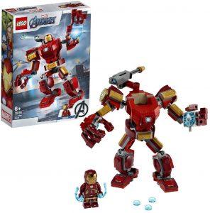 Sets de LEGO de Iron Man - Juguete de construcción de LEGO de Iron Man de Armadura de Iron Man 76140