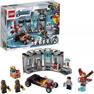 Sets de LEGO de Iron Man - Juguete de construcción de LEGO de Iron Man de Armería de Iron Man 76167