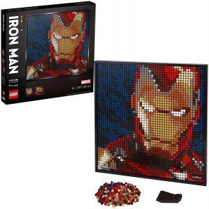 Sets de LEGO de Iron Man - Juguete de construcción de LEGO de Iron Man de Art Marvel Studios de 31199