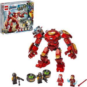 Sets de LEGO de Iron Man - Juguete de construcción de LEGO de Iron Man de Hulkbuster de Iron Man vs. Agente de A.I.M. 76164
