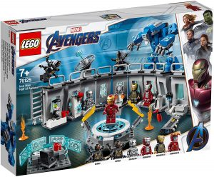 Sets de LEGO de Iron Man - Juguete de construcción de LEGO de Iron Man de Sala de Armaduras de Iron Man 76125