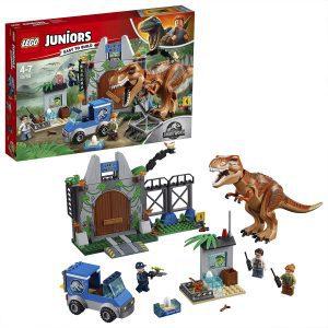 Sets de LEGO de Jurassic World - Juguete de construcción de LEGO de Jurassic World 10758 Fuga del T Rex
