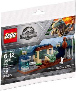 Sets de LEGO de Jurassic World - Juguete de construcción de LEGO de Jurassic World 30382 Cría de Velociraptor
