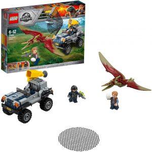 Sets de LEGO de Jurassic World - Juguete de construcción de LEGO de Jurassic World 75926 Caza del Pteranodon
