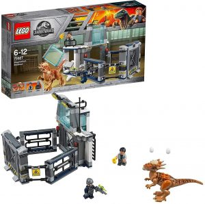 Sets de LEGO de Jurassic World - Juguete de construcción de LEGO de Jurassic World 75927 Fuga del Stygimoloch