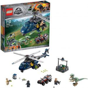 Sets de LEGO de Jurassic World - Juguete de construcción de LEGO de Jurassic World 75928 Persecución en Helicóptero de Blue
