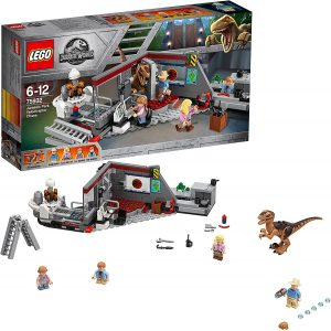 Sets de LEGO de Jurassic World - Juguete de construcción de LEGO de Jurassic World 75932 Caza del Velociraptor en Parque Jurásico