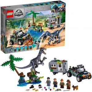 Sets de LEGO de Jurassic World - Juguete de construcción de LEGO de Jurassic World 75935 Encuentro con el Baryonyx Búsqueda del Tesoro